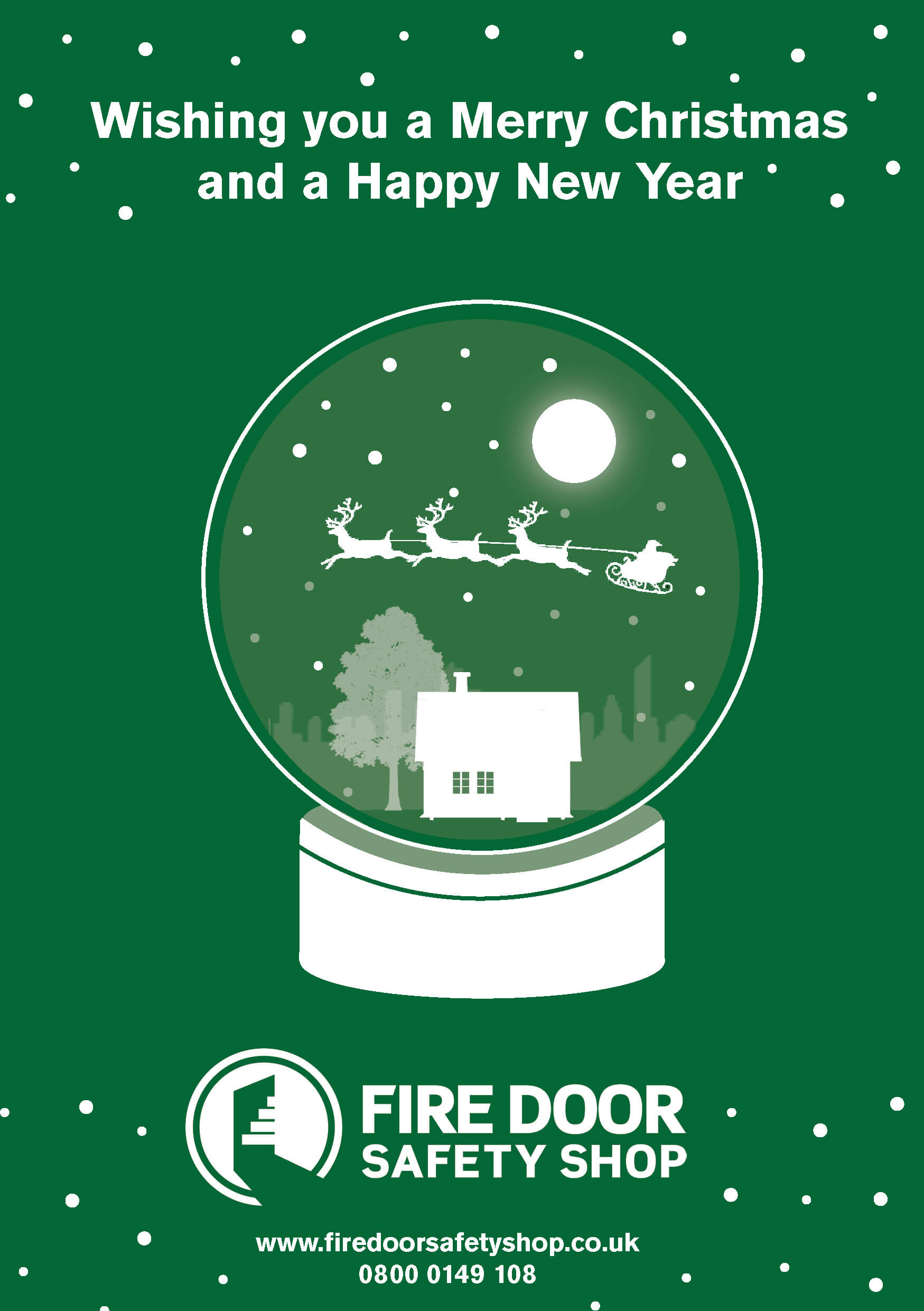 Merry Christmas from Fire Door Safety Shop 2019